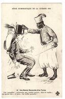 MILITARIA - Série Humoristique De La Guerre 1914 - 16 - Une Bonne Revanche D'un Turco - Illustrateur A. P. Jarry - Humoristiques
