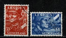 Ned. 1942  Yv. 392/94,  NVPH 402/03, Mi 402/03 (2 Scans) - 1891-1948 (Wilhelmine)