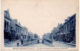 Hénin Liétard : La Rue De Douai Et Le Passage Souterrain - Other Municipalities