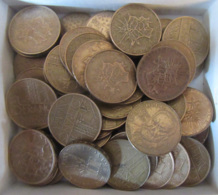France - Vrac De 54 Monnaies Type Mathieu Dont Une Partie De Frappes Spéciales (Roland Garros, Etc...) - Collections
