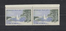Timbres FRANCE   Variétés  1961 Arcachon 0,30f  N° 1312a  Neufs Avec Colle D'origine - Errors & Oddities