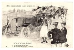 MILITARIA - Série Humoristique De La Guerre 1914 - 28 - Le Turco Qui A Tué 18 Uhlans - Umoristiche