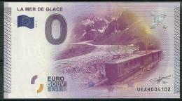 Billet Touristique 0 Euro 2015  La Mer De Glace  Train - Essais Privés / Non-officiels