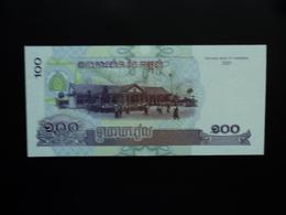 CAMBODGE : 100 RIELS   2001   P 53a     NEUF - Cambodia