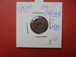 CHINE 1/2 SAPEQUE +-1890 PEU COURANTE - Chine