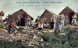 BOSNA: KOLIBE NA PRENJU.  BOSNIA Y HERZEGOVINA BOSNIEN UND  HERZEGOWINA, Bos Brod - Bosnia Erzegovina