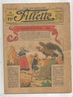 Revue , FILLETTE , 17 Mars 1935 , N° 1408 , LA PRINCESSE-POUPEE, Frais Fr 1.95 E - 1900 - 1949