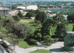 Adelaide, Overlooking Government & Parliament House, South Australia -  Posted 1985 With Stamp - Adelaide