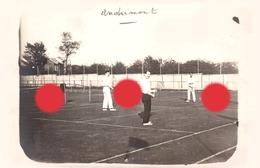 Tennis à Andrimont Dison /vers 1925  / Photo A. Lorquet à Andrimont - Dison