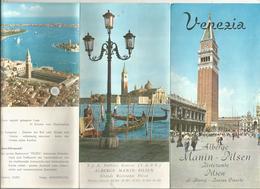 Publicité , 6 Pages , Albergo Manin-Pilsen ,ristorante , Italie ,VENEZIA ,S. Marco - Bacino Orseolo , Frais Fr 1.65 E - Publicités