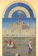 Art - Peinture - Les Très Riches Heures Du Duc De Berry - Octobre - Le Louvre - Les Semailles - Musée Condé De Chantilly - Malerei & Gemälde