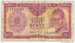 Zambia 50 Ngwee 1968 - Zambie