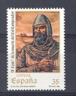 Spain 1999. Centenario El Cid Ed 3655 (**) - 1931-Hoy: 2ª República - ... Juan Carlos I