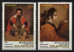 Spain 1999. Diego De Velazquez Ed 3658-59 (**) - 1931-Hoy: 2ª República - ... Juan Carlos I