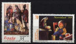 Spain 1999. Navidad Ed 3685-86 (**) - 1931-Hoy: 2ª República - ... Juan Carlos I