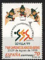 Spain 1999. Campeonato Atletismo Ed 3627 (**) - 1931-Hoy: 2ª República - ... Juan Carlos I