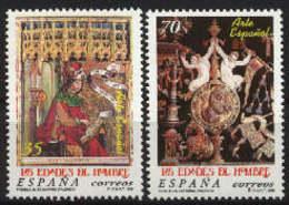 Spain 1999. Las Edades Del Hombre Ed 3630-31 (**) - 1931-Hoy: 2ª República - ... Juan Carlos I
