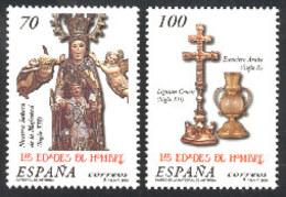 Spain 2000. Las Edades Del Hombre Ed 3700-01 (**) - 1931-Hoy: 2ª República - ... Juan Carlos I
