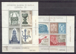 España'75 - Ed 2252-53 Mismo Num. (**) - 1931-Hoy: 2ª República - ... Juan Carlos I