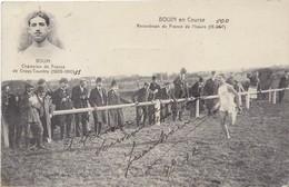 AUTOGRAPHE SUR CPA JEAN BOUIN - Bouin En Course, Carte Anotée Et Autographiée, Datée 1912 - Athlétisme