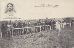 AUTOGRAPHE SUR CPA JEAN BOUIN - Bouin En Course, Carte Anotée Et Autographiée, Datée 1912 - Leichtathletik