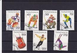 TANZANIE : Sports : Y&T : 1513 O à 1519 O - Tanzanie (1964-...)