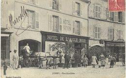 Carte Postale Ancienne De JUSSEY - Rue Gambetta - France