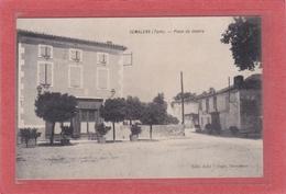 SEMALENS -81-  Place Du Centre - Autres Communes