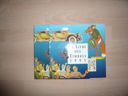 LE LIVRE DES TIMBRES FRANCE 1995 COMPLET - Timbres