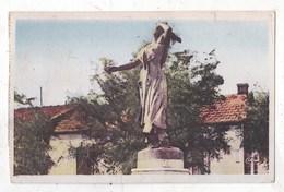 Carte Postale Sainte Marie De La Mer Statue De Mireille - Saintes Maries De La Mer
