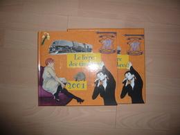 LE LIVRE DES TIMBRES FRANCE 2001 COMPLET - Sonstige Bücher