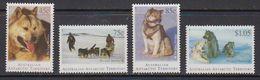 AAT 1994 Huskies 4v ** Mnh (41819) - Australisch Antarctisch Territorium (AAT)