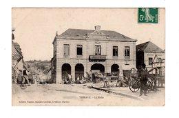 CPA 72 - Vibraye - La Halle , Marché - Vibraye