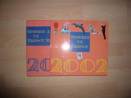 LE LIVRE DES TIMBRES FRANCE 2002 COMPLET - Sonstige Bücher