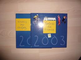 LE LIVRE DES TIMBRES FRANCE 2003 COMPLET AVEC LES TIMBRES - Sonstige Bücher