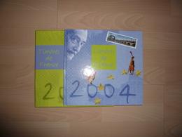 LE LIVRE DES TIMBRES FRANCE 2004 COMPLET - Timbres