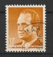 MiNr. 2688 - 2689  Spanien 1985, 16. Juli. Freimarken: König Juan Carlos I. RaTdr. (1010); Papier Ph.; Gez. K 14:13. - 1931-Heute: 2. Rep. - ... Juan Carlos I
