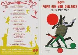 FRANCE 2007 60e FOIRE AUX VINS D'ALSACE 10 - 19 AOUT 2007 TOMI UNGERER - Contemporary (from 1950)