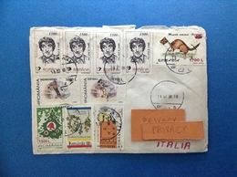 2000 ROMANIA POSTA ROMANA STORIA POSTALE BUSTA POSTAL HISTORY - Storia Postale