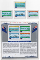 1978 - TRISTAN DA CUNHA - Yv.  Nr. 248/251 + BF 7 - NH - (UP131.5) - Tristan Da Cunha