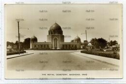Iraq The Royal Cemetery Baghdad Sheik  Faisal Saudi Arabia Postcard 1940s-50s By Dingizian Bros - Iraq