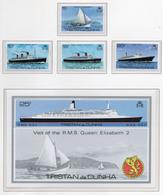 1979 - TRISTAN DA CUNHA - Yv.  Nr. 256/259 + BF 8 - NH - (UP131.5) - Tristan Da Cunha
