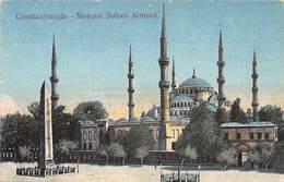 CONSTANTINOPLE.- MOSQUÉ SULTAN ALMRED - Turquia