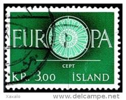 Iceland 1960 - Europa Cept - Gebraucht