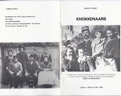 1982 KNOKKENAARS VAN 1830 TOT NU A. D'HONT UITG. CNOC IS IER ( KNOKKE ) - History