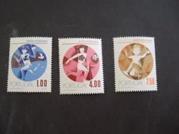 PORTUGAL 1973. YVERT 1186/88   MICHEL 1206/08   . MNH** (IS57-NVT) - 1910-... République
