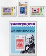 1979 - TRISTAN DA CUNHA - Yv.  Nr. 260/262 + BF 9 - NH - (UP131.6) - Tristan Da Cunha