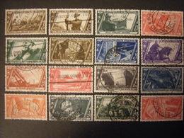 SVENDITA 1932 - DEC. MARCIA SU ROMA , Serie Compl. Usata,  TTB,  OCCASIONE - 1900-44 Vittorio Emanuele III