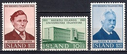 Iceland 1961 - The 50th Anniversary Of The University Of Iceland - 1944-... Republik