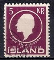Iceland 1961 - The 150th Anniversary Of The Birth Of Jon Sigurdsson - 1944-... Republik